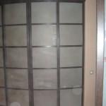 Раздвижная дверь с ламинацией и фьюзингом