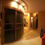 Раздвижные, радиусные двери