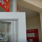 Дверь к офисным перегородкам