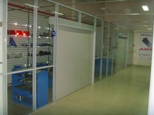 Офисные перегородки для торгового павильона
