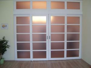 Раздвижная дверь в зал